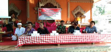 Pelantikan Kelompok Penyelenggara Pemungutan Suara (KPPS) Pemilu Tahun 2019