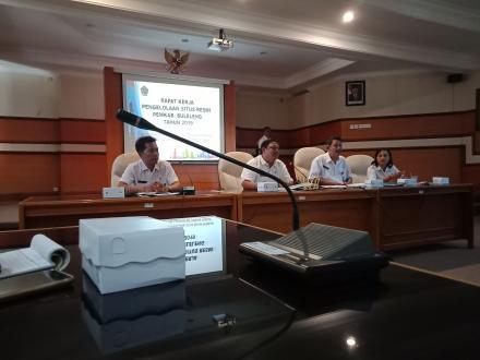 Rapat Kerja Pengelolaan Situs Resmi Pemerintah Kabupaten Buleleng Tahun 2019