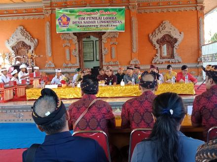 Lomba Desa Sadar Lingkungan (DSL) Desa Adat Padangbulia Tahun 2019