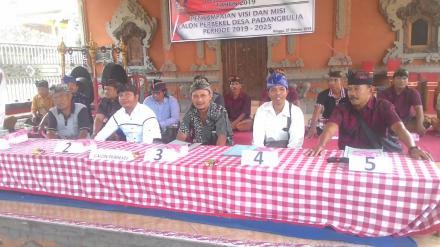 Kampanye Terbuka Calon Perbekel Padangbulia Periode 2019-2025 Berjalan Lancar