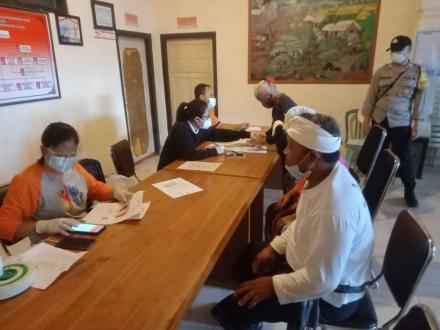 PT. Pos Singaraja distribusikan Bantuan Sosial Tunai Kemensos Bulan Pebruari Tahun 2021