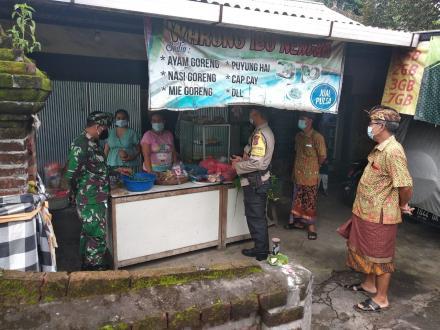 Sosialisasi Perpanjangan Pemberlakuan Pembatasan Kegiatan Masyarakat PPKM Desa Padangbulia
