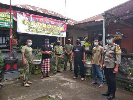 Tim Posko Komando Tingkat Desa (PPKM) Desa Padangbulia