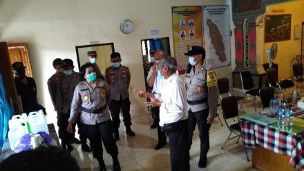Kunjungan Tim Supervisi Polda Bali (Uji Petik) di Desa Padangbulia