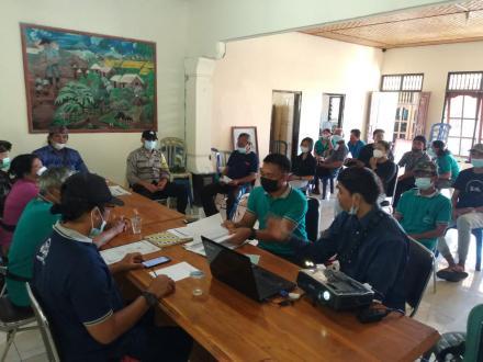 Pelatihan Kelompok Kerja Relawan Pendataan Desa Tahun 2021 Desa Padangbulia