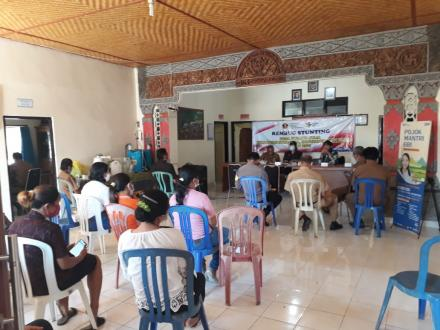 Rembug Stunting Desa Padangbulia Tahun 2021