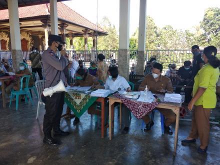 Vaksin Dosis II Astrazeneca Masyarakat Desa Padangbulia Tahun 2021